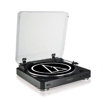 Audio-Technica AT-LP60WHBT Bluetooth Turntable - Black